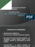 AULA 2 -Avaliação de Riscos e Impactos Ambientais