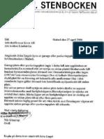 Likhetsprincipens Tolkning Enl BRF Stenbocken