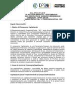 GUÍA OPERATIVA CAPITALIZACION 2014 Versión final.pdf