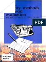 Basisc Sensory Methods for Food Evaluation