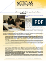 Calidad de la educación en la región Caribe colombiana