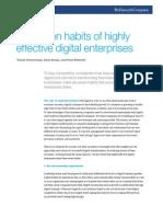 The Seven Habits of Highly Effective Digital Enterprises