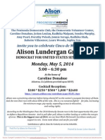 Celebrate Cinco de Mayo - Cocktail Reception  for Alison Lundergan Grimes for Senate
