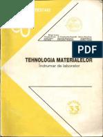 Indrumar Tehnologia Materialelor