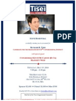 Event for Richard Tisei