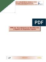 Procedimiento de identificacion de Requisitos Legales
