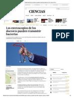 Los Estetoscopios de Los Doctores Pueden Transmitir Bacterias _ El Comercio Perú