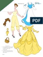 Belle Paperdoll