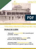 1. Programe Arhitectura Sec XIX