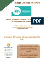 1- Adrian Fernandez- Gestion Del Cambio Climatico y Su Incorporacion