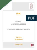 09.- La Evaluacion de Riesgos en La Mineria