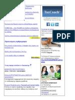 TaxCoach news 22.05.2014 - Προσοχή στην Εφορία οι έχοντες ληξιπρόθεσμες οφειλές!