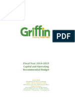 City of Griffin FY2014-2015 Recommended Budget