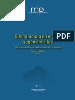 MP Feminicidio Distritos ENE OCT2010