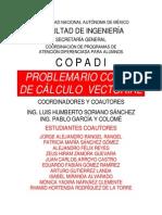 Problemario Copadi de Calculo Vectoria - Humberto y Colome