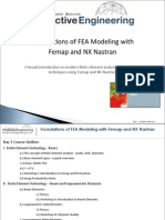 Foundations of Fea Modeling With Femap and Nx Nastran Partial Notes