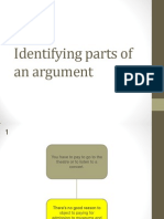 1.3.2 - Ex. 4 - Identifying Parts of an Argument