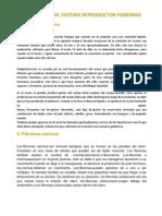 Patologías Del Sistema Reproductor Femenino