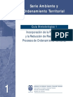 Guia Reduccion de Riesgo - Mvct