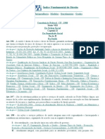 DJi - 196 a 200 - Constituição Federal - CF - 1988 - Saúde