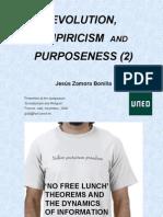 Evolution, Empiricism & Purpose 2. A criticism of Intelligent Design