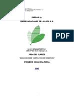 Base Suministros Informáticos Amc Nº 028-2010-Enaco s.a. Primera Convocatoria