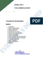 Taller de Tcnologia Ivan Lozano 10 b