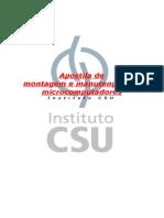 Apostila Montagem e Manuntencao CSU