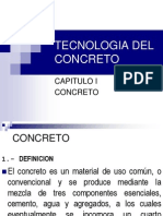 1ra Clase Concreto CEMENTO AGUA.2014