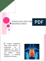 Fisiologia Del Sistema Respiratorio