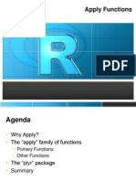 Apply Function Workshop - Rich Pugh