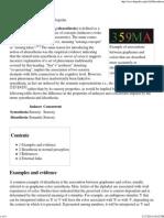 Ideasthesia - Wikipedia, The Free Encyclopedia