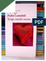 Lemebel, Pedro - Tengo Miedo Torero