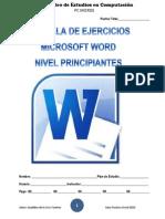 Cartilla de Ejercicios de Word PC MICROS