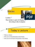Scc2301 Ch4 l07 Stocks