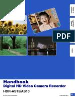 HDR-AS10 AS15 Handbook