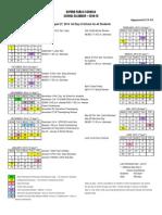 Oxford Schools 2014-15 Calendar