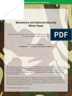 Biometrics and National Security