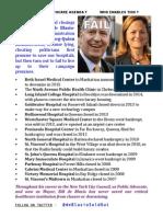 2015-10-13 Bill de Blasio Hospital Closings Flyer