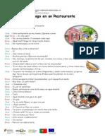 Diálogo en Un Restaurante_vocabulario