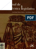 Manual de Técnica Legislativa