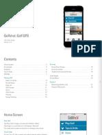 Golfshot IOS User Guide
