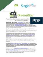 Singlepoint Greenstar Joint Venture May 22, 2014