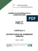 NEC2011-CAP4-ESTRUCTURAS DE HORMIGON ARMADO-2013.pdf