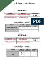 Torneio Futsal
