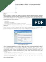 Autenticación de Usuarios Con PHP y MySQL Sin Programar Nada – Manejo de Sesiones _ Blog de Cyberexplorador
