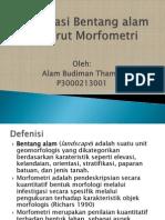 Klasifikasi Bentang Alam Menurut Morfometri (Alam Budiman Tamsil)