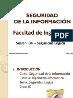 2014 - Sesion 05 - Seguridad Logica