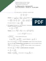 1ª prova calculo II