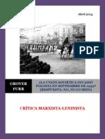 Furr - La Unión Soviética Invadió Polonia en Septiembre de 1939 (Respuesta. No, No lo Hizo).pdf